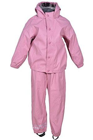 Mikk-Line Baby Girls' PU Rainwear-Set Regenhose und Regenjacke Wassersäule 8000 Jacket