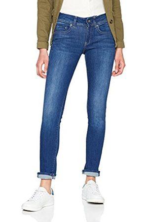 Womens Lanc 3D High Wmn Straight Jeans, Blue (Medium Aged 071), W27/L32 G-Star