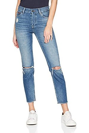 Tommy Hilfiger Women's High Rise Izzy Stmbde Slim Jeans