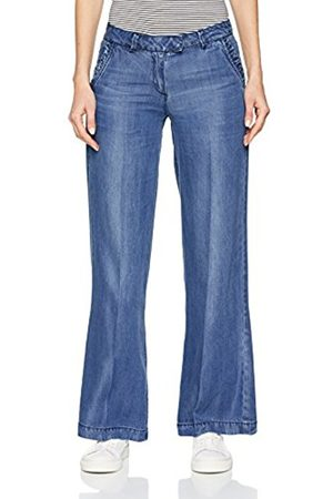 s.Oliver Women's 14.803.71.4649 Flared Jeans