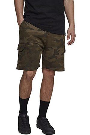 Urban classics Men's Camo Cargo Terry Shorts