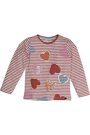 Salt & Pepper Girl's Sunny Day Stripes Longsleeve T-Shirt