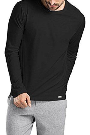 Hanro Men's Living Shirt 1/1 Arm Longsleeve T-Shirt
