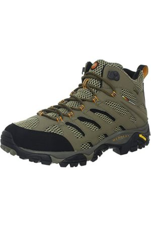 Merrell Moab Mid Gore-Tex , Men's Lace-Up Trekking and Hiking Boots - Walnut