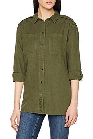 Tommy Hilfiger Women's TJW Linen Blend Friend Shirt T-Shirt
