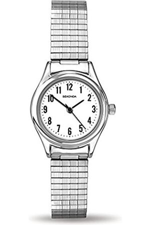 Sekonda Women's Quartz Watch with Dial Analogue Display and Stainless Steel Bracelet 4601.27