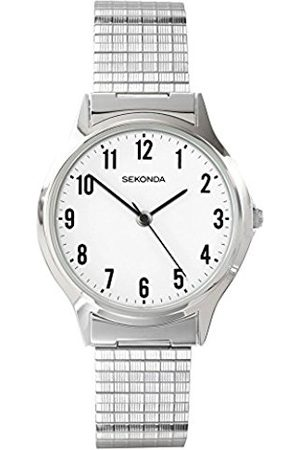 Sekonda Men's Quartz Watch with Dial Analogue Display and Stainless Steel Bracelet 3751.27