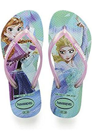 Havaianas Girls' Slim Frozen Flip Flops