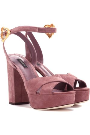 Dolce & Gabbana Exclusive to mytheresa.com – suede plateau sandals