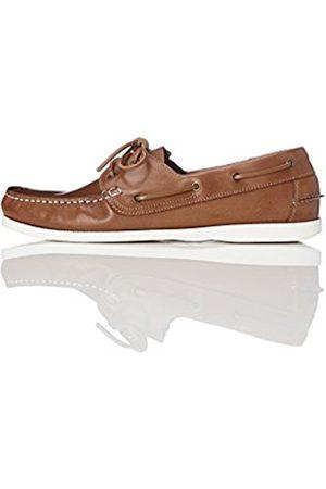 FIND Men's Iconic Sailing Shoes (Camel) 7 UK (41 EU)