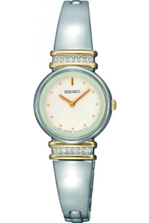 Seiko Women's Quartz Watch with Dial Analogue Display and Stainless Steel Bracelet SUJG32P9