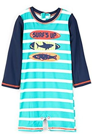 Hatley Baby Swimwear - Baby Boys' Swim Shirt Swimsuit, (Surfboards)
