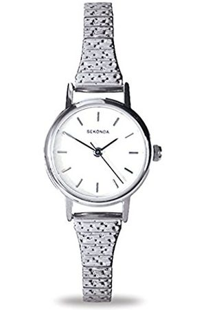 Sekonda Women's Quartz Watch with Dial Analogue Display and Stainless Steel Bracelet 4676.27