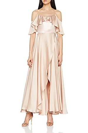 Coast Women's Georgie-110-019220 Party Dress, (Champagne)