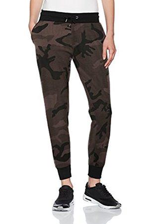 Urban classics Women's Ladies Camo Terry Sports Pants