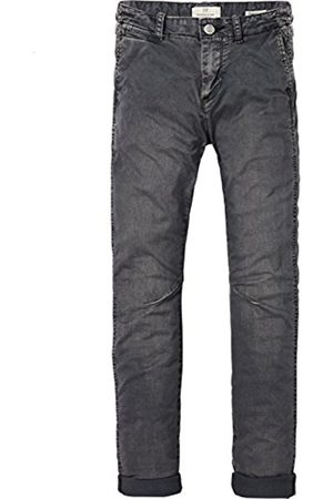 Scotch&Soda Shrunk Boy's Washed Chino In Relaxed Slim Fit Trouser