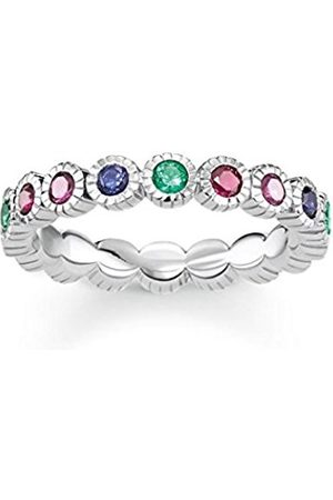 Thomas Sabo Silver Piercing Ring - TR2145-322-7-56