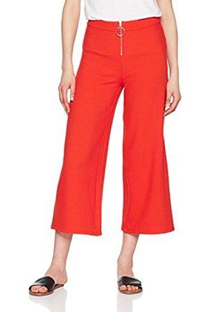 Rich & Royal Women's Pant With Zipper Trousers