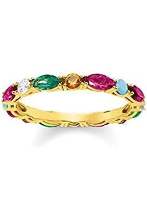 Thomas Sabo Silver Piercing Ring - TR2185-488-7-54