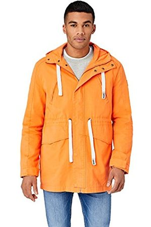 HIKARO Men's Funnel Neck Parka