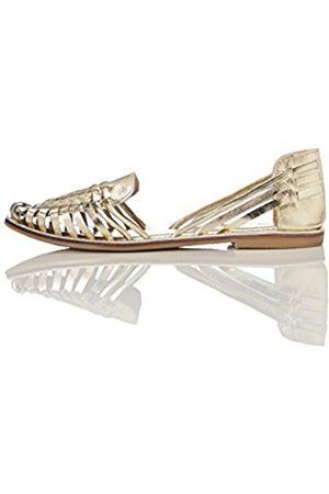 FIND Women's Woven Leather Sandals