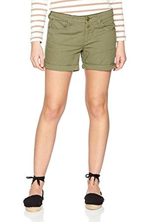 Freeman T Porter Women's Romie Hemp Cotton Shorts Grün (Dustee Olive F784) UK 12