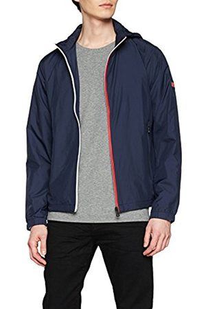 Tommy Hilfiger Men's Red White Zip Jacket