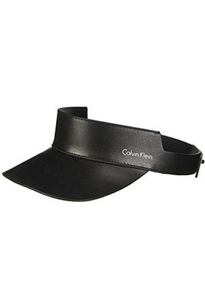 Calvin Klein Women's Leather Visor Baseball Cap
