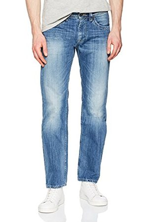 Pepe Jeans Pepe Jeans Men's Kingston Zip Straight Jeans, (Denim 000-N56)