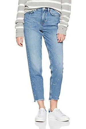 Tommy Hilfiger Women's Gramercy HW Ankle F Keena Straight Jeans