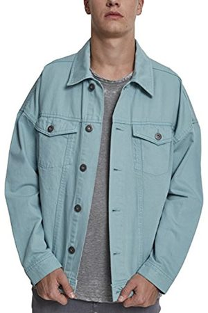 Urban classics Men's Oversize Garment Dye Denim Jacket