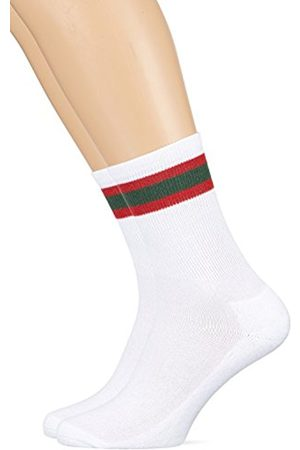 Urban classics Men's Stripy Sport 2-Pack Socks