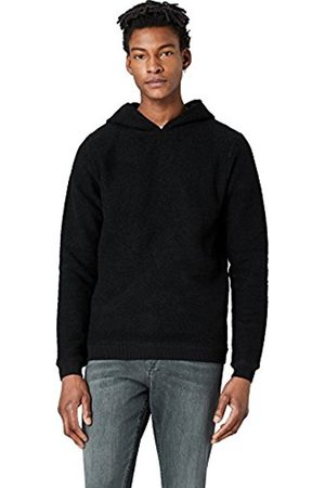 FIND Men's Hoodie In Overhead Jumper With Ribbed Finish