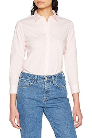 Tommy Hilfiger Women's Haria Dobby Shirt LS W2 Blouse, (Dobby Prt/Orchid 638)