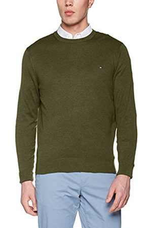 Tommy Hilfiger Men's Cotton Silk Cneck Jumper