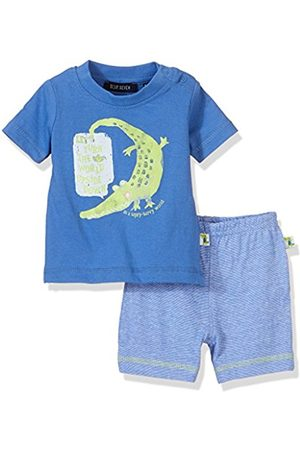 Blue Seven Baby Boys' NB Kn Shirt Shorts Clothing Set