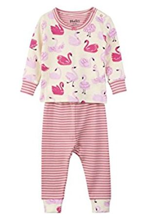 Hatley Baby Girls' Mini Organic Cotton Long Sleeve Pyjama Sets