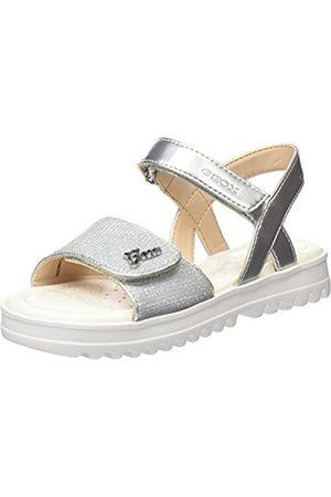 Geox Girls' J Coralie G Open Toe Sandals