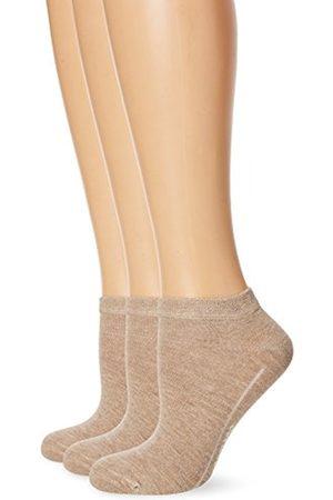 Camano Women's CA Soft Sneaker 3er Pack Ankle Socks