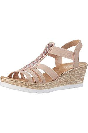 Rieker 61913, Women's Closed Toe Sandals