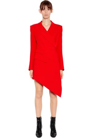 ANTONIO BERARDI WRAP CADY JACKET DRESS