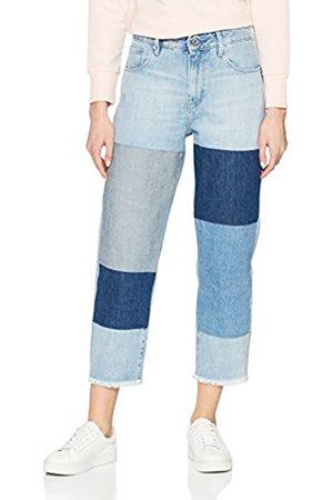 G-Star Women's 3301 Mid Waist Boyfriend Ripped Jeans