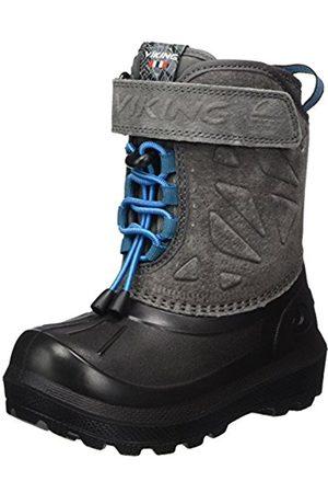 Viking Unisex Kids' Nordlys Suede Snow Boots Size: 11UK Child