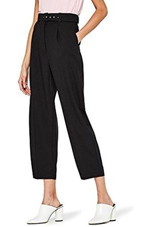 FIND Women's High Waist Belted Trouser