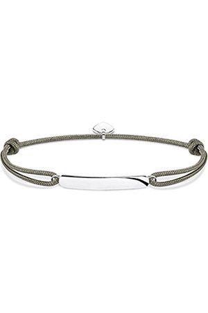 Thomas Sabo Men Silver Strand Bracelet - LS057-173-5-L22v