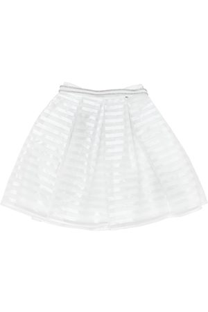 MISS GRANT Girls Skirts - COTTON ORGANZA & SATIN SKIRT