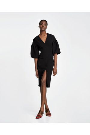 Zara MIDI SHIFT DRESS