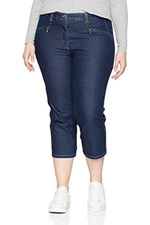 Ulla Popken Women's Jeans mony Wadenlang Trousers