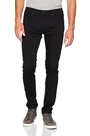 HUGO BOSS Herren Straight Jeans 734, Schwarz ( 001)