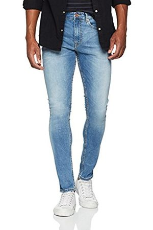 New Look Men's Jon Bright Skinny Jeans, (Bright )